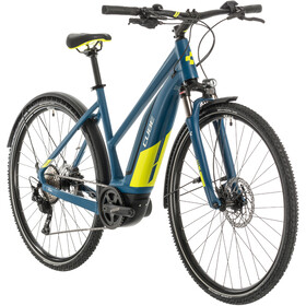 Cube Nature Hybrid EXC 500 Allroad Trapeze, blue/lime